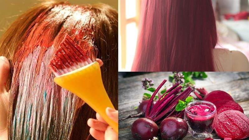 Dye Hair With The Beetroot