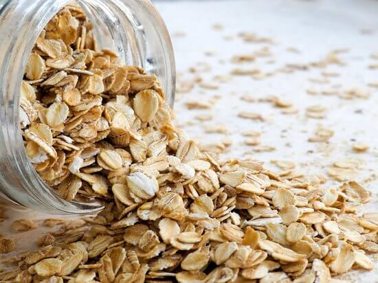 Beauty hack with Oats