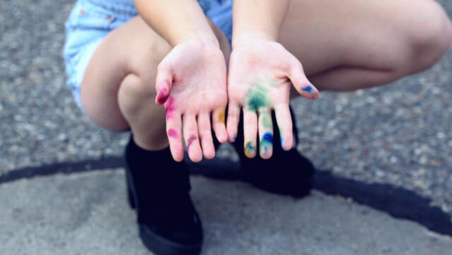Color-stain