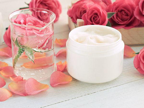 Rosewater and your regular shampoo