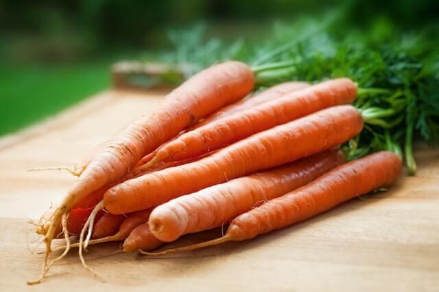 carrots for hair