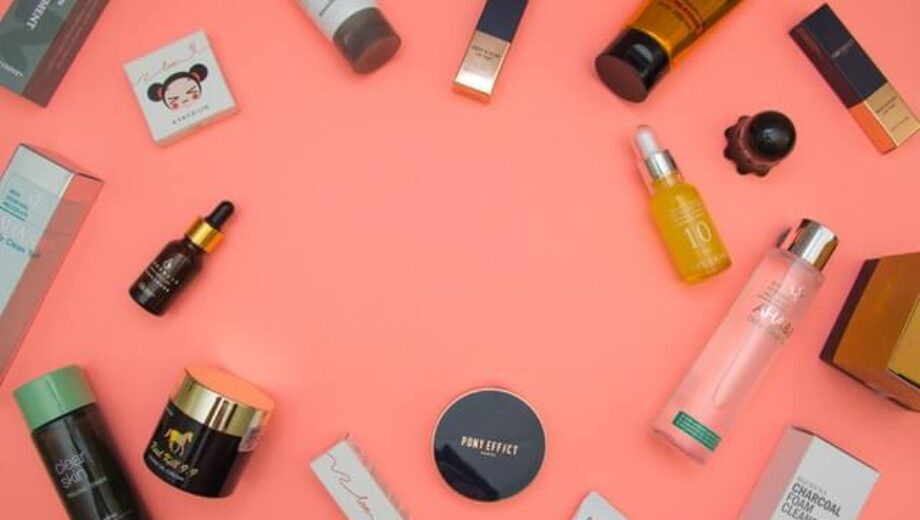 stylish-beauty-products-arranged-on-pink-table-1502219 (1)