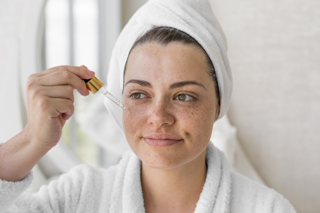 hyaluronic acid on face