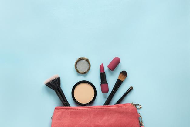 makeup bag for bride