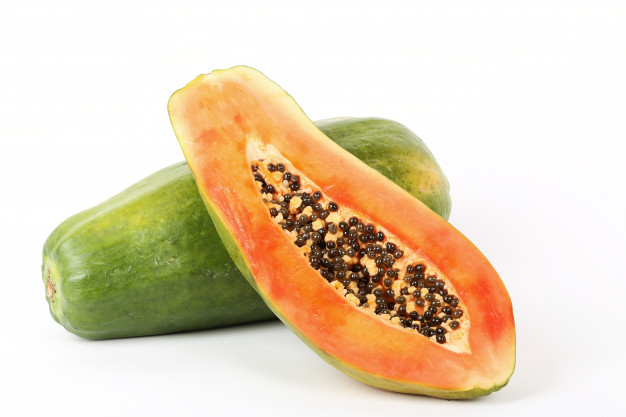 papaya to get rid of facial hair