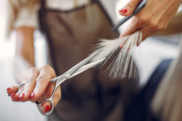 hairdresser cut hair her client hair salon 1157 27198 What Causes Hairfall? Tips to control hair fall!