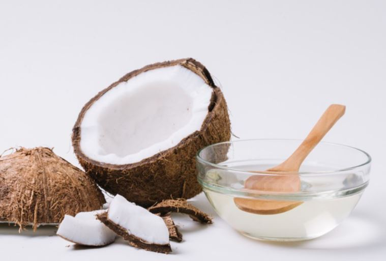coconut and kiwi for skin