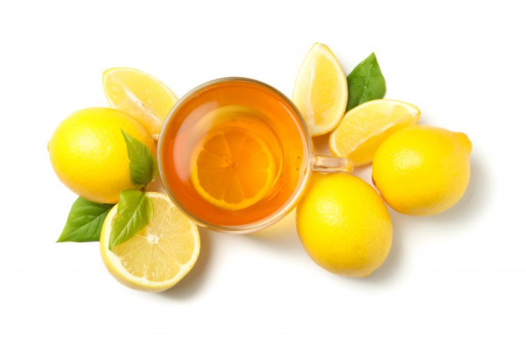lemon and tulsi face pack