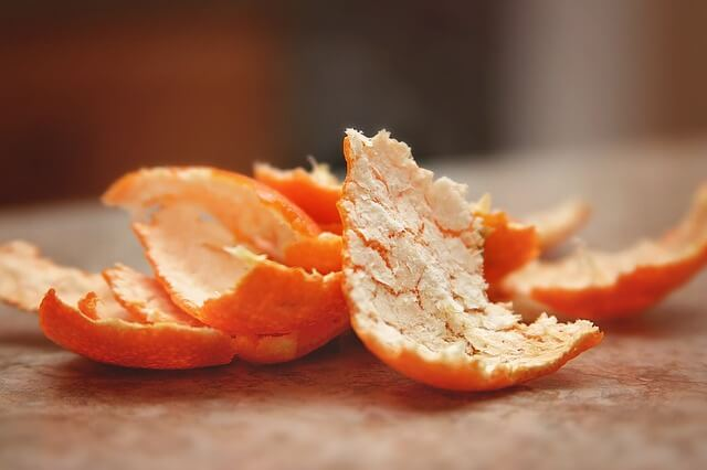 orange peel and tulsi face pack