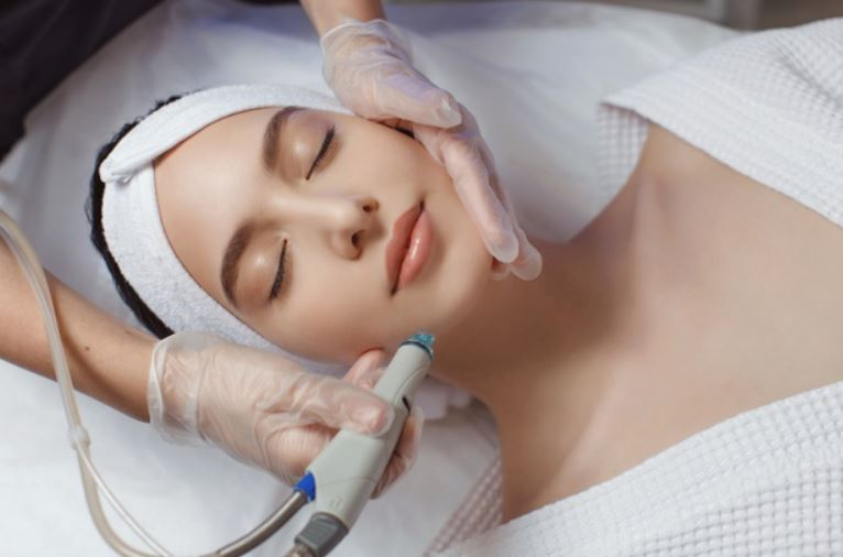 oxygen facial for glowing skin