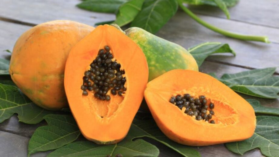 papaya face pack fig 1