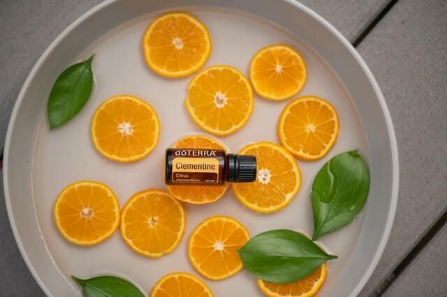orange oil- best face serum