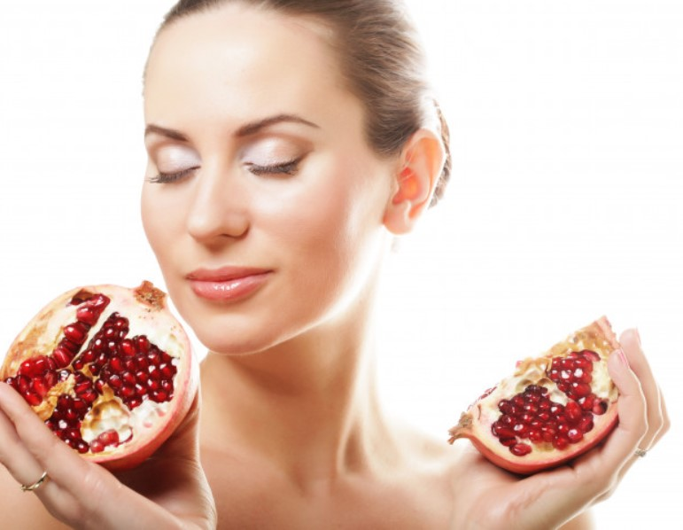 pomegranate face pack fig 1