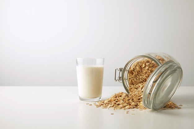 oats and milk on your skin