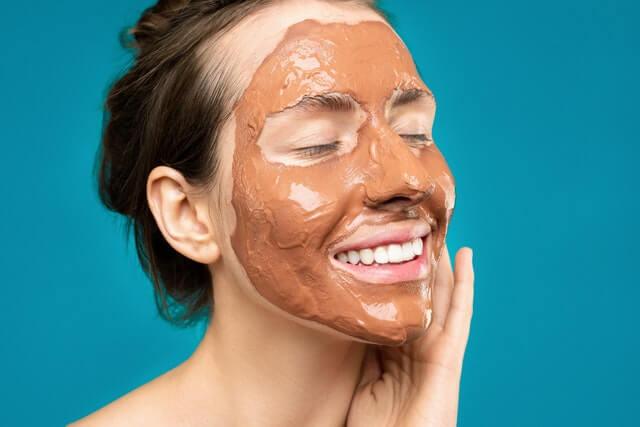 clay mask- remove pores