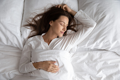 sleep quality- silk sleepwear