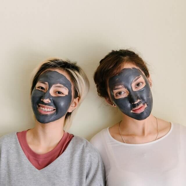 charcoal- remove blackheads