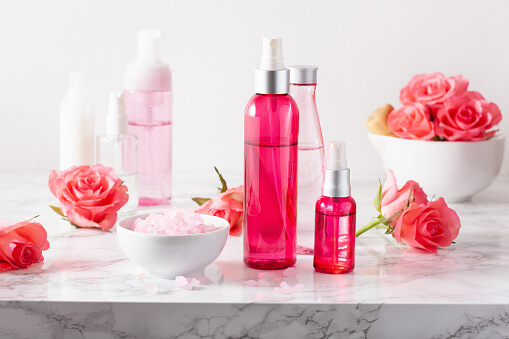 rosewater and glycerine for face