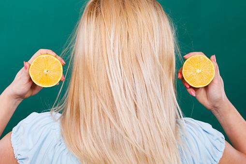 lemon juice for the scalp